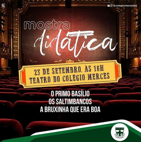 TCM - MOSTRA DIDÁTICA 23092019
