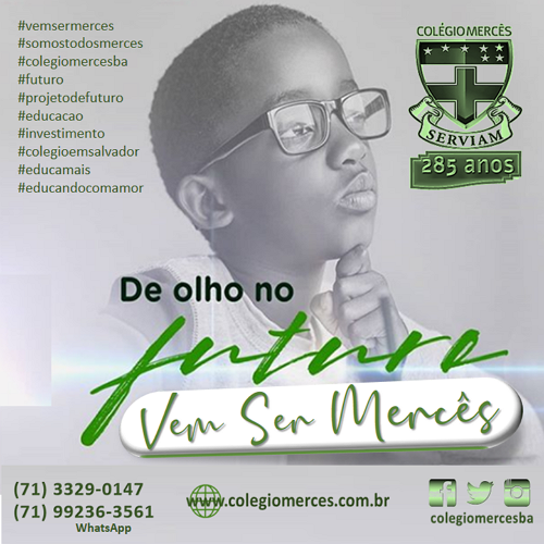 DE OLHO NO FUTURO...