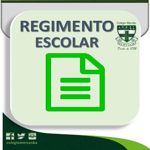 LEIA O REGIMENTO...
