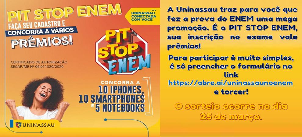 PIT STOP ENEM...