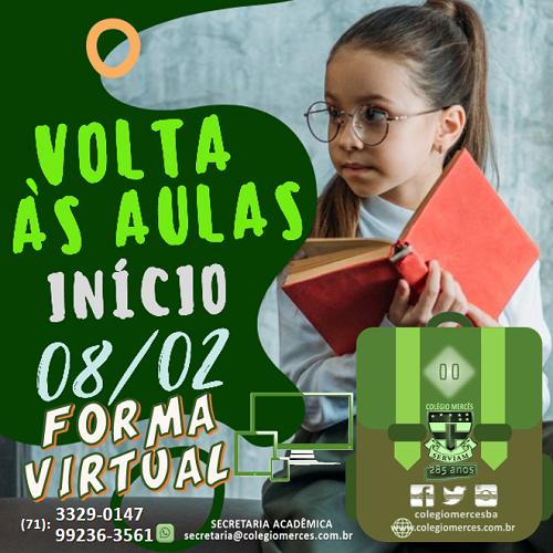 VOLTA ÀS AULAS 2021 VIRTUAL