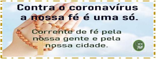 CORRENTE DE FÉ E ORAÇÃO